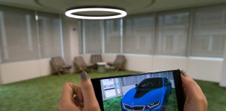 Accenture builds BMW a Google AR Car Visualizer