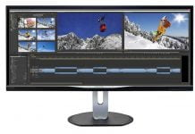 Monitor Philips BDM3470UP con pantalla UltraWide de 34 pulgadas