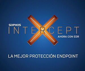 Sophos Intercept X Advanced with EDR Seguridad Endpoint